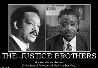 Al Sharpton has a net worth of $5 Million while the good Rev. Jackson's net worth comes to $10 Million.  How's that for justice?