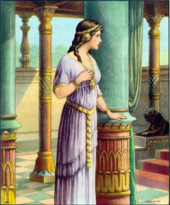 Queen Esther freed her people at the risk of death.