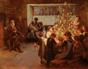 the-christmas-tree-albert-chevallier-tayler